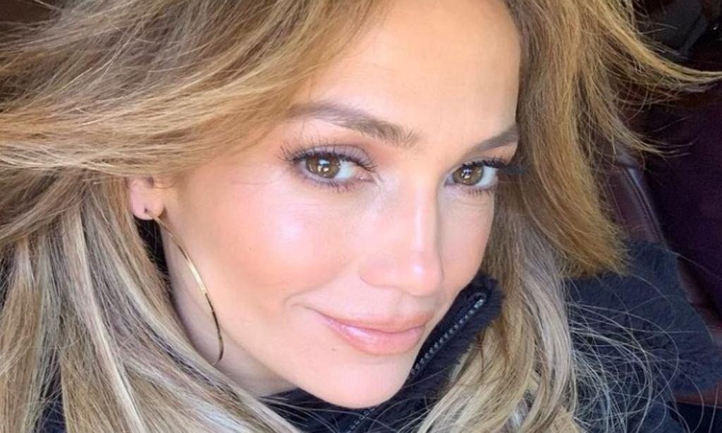 Jennifer Lopez w nowych włosach