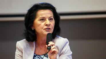 Wyborcza debata WWF w Auditorium Maximum UJ. Anna Paluch