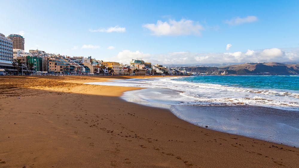 Plaża Las Canteras na Gran Canarii