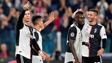 Cristiano Ronaldo i koledzy z Juventusu Turyn