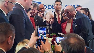 Jarosław Kaczyński, konwencja w Kaliszu.
