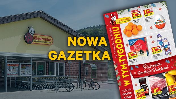Gazetka Biedronka, od czwartku 29.11.2018 moc przedświątecznych promocji