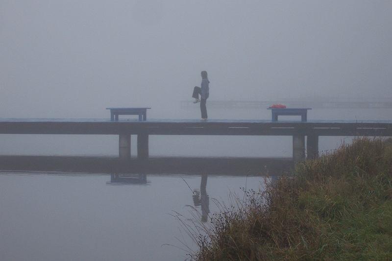 Dwa oddechy mgły