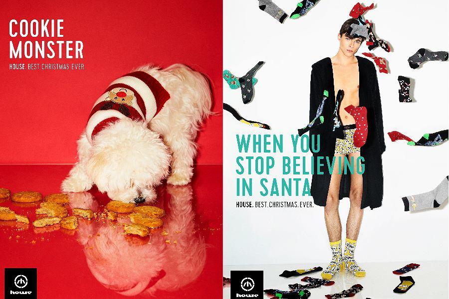 w nowej kolekcji House na Święta znajdziecie między innymi etui na telefon, ciepłe skarpetki, opaski, biżuterię, a nawet ubranie dla psa!