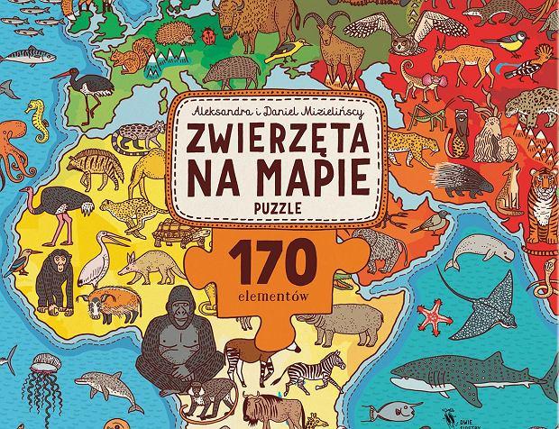 'Zwierzęta na mapie'