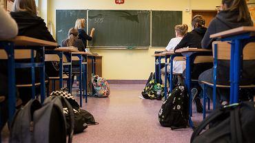 Sala lekcyjna (zdjęcie ilustracyjne)