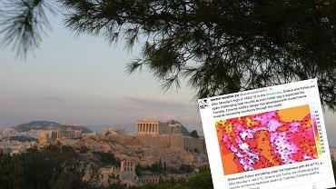 Grecja. Termometry mogą wskazać nawet 47 stopni. Największa fala gorąca od ponad 30 lat