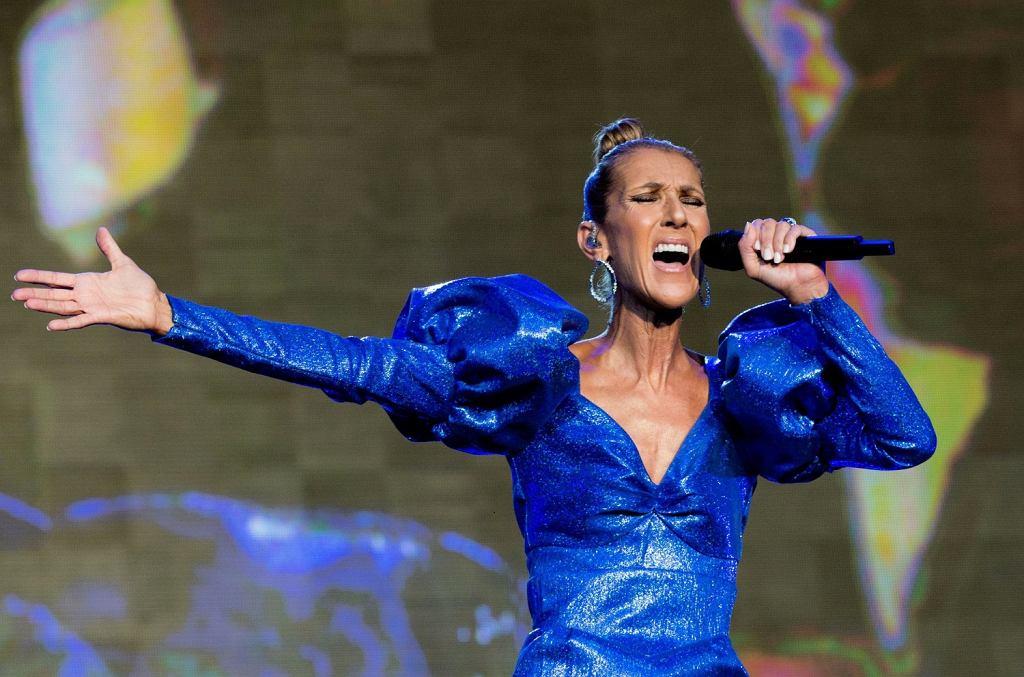 2Koncert Celine Dion na letnim festiwalu w Londynie