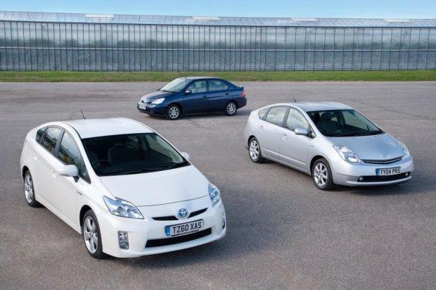 Toyota Prius - trzy generacje