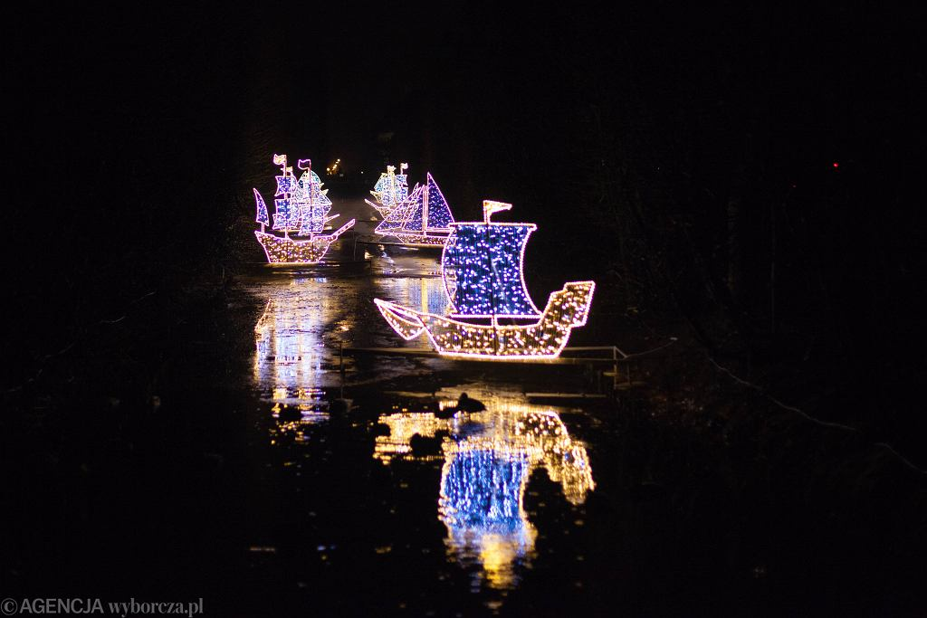 Boże Narodzenie. Iluminacje świąteczne w Gdańsku