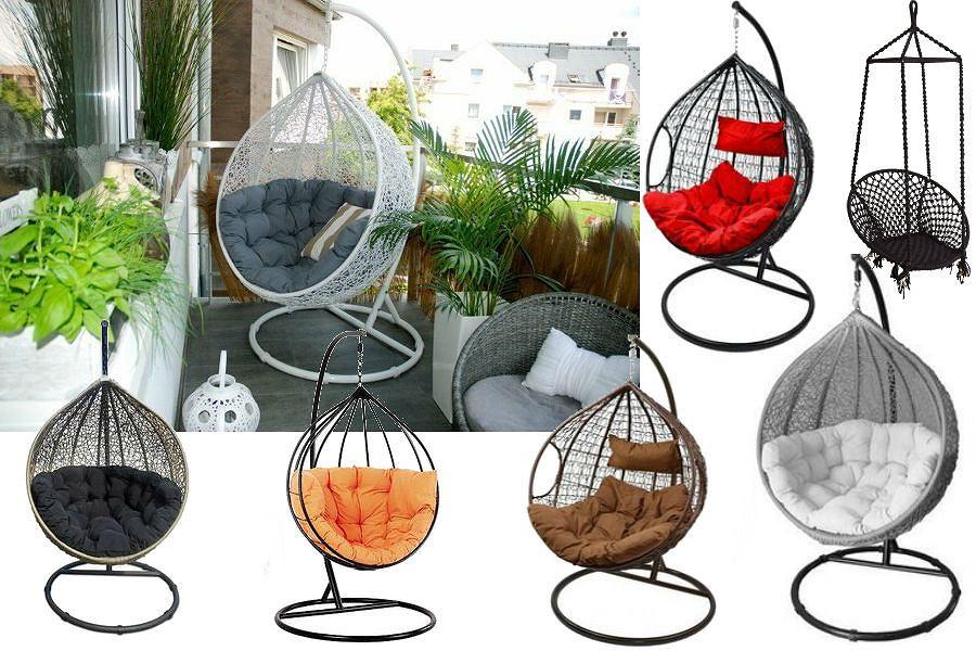 Modny trend: wiszący fotel do ogrodu