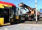 Kolizja tramwaju linii 7 z oplem. Były utrudnienia