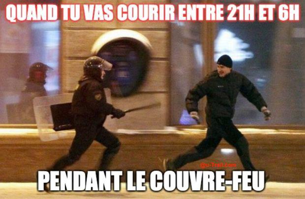 Bieganie po 21 Francja