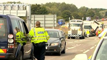 Wypadek na M1, w który, zginęło osiem osób