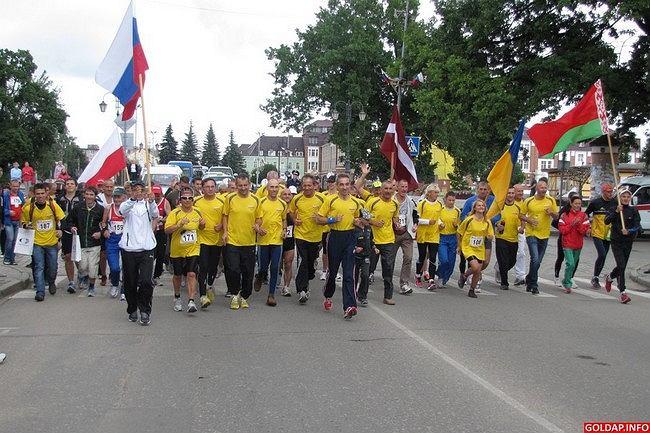 Międzynarodowy Półmaraton Gusiew-Gołdap 2012