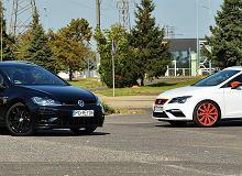 Opinie Moto.pl: Seat Leon ST Cupra vs. VW Golf Variant R - rodzinne szaleństwo na co dzień
