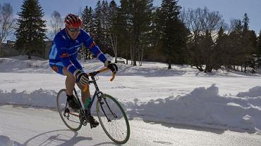 Rowerem po lodzie