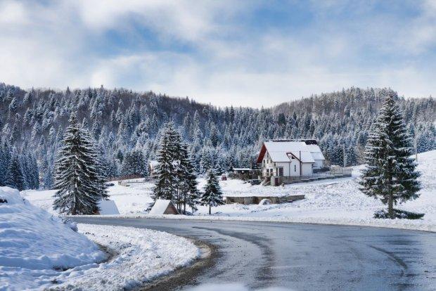 Transylwania. Piękne tereny wokół Braszowa. Rumunia