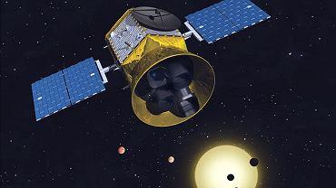 Teleskop TESS - ilustracja MIT