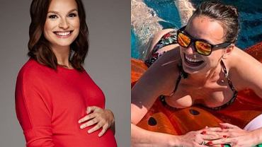 Anna Starmach w ciąży / Anna Starmach na wakacjach