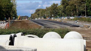 Wrzesień 2021 r. Modernizacja wschodniego wylotu drogi krajowej nr 22 w Gorzowie na odcinku od ronda Sybiraków do granic miasta
