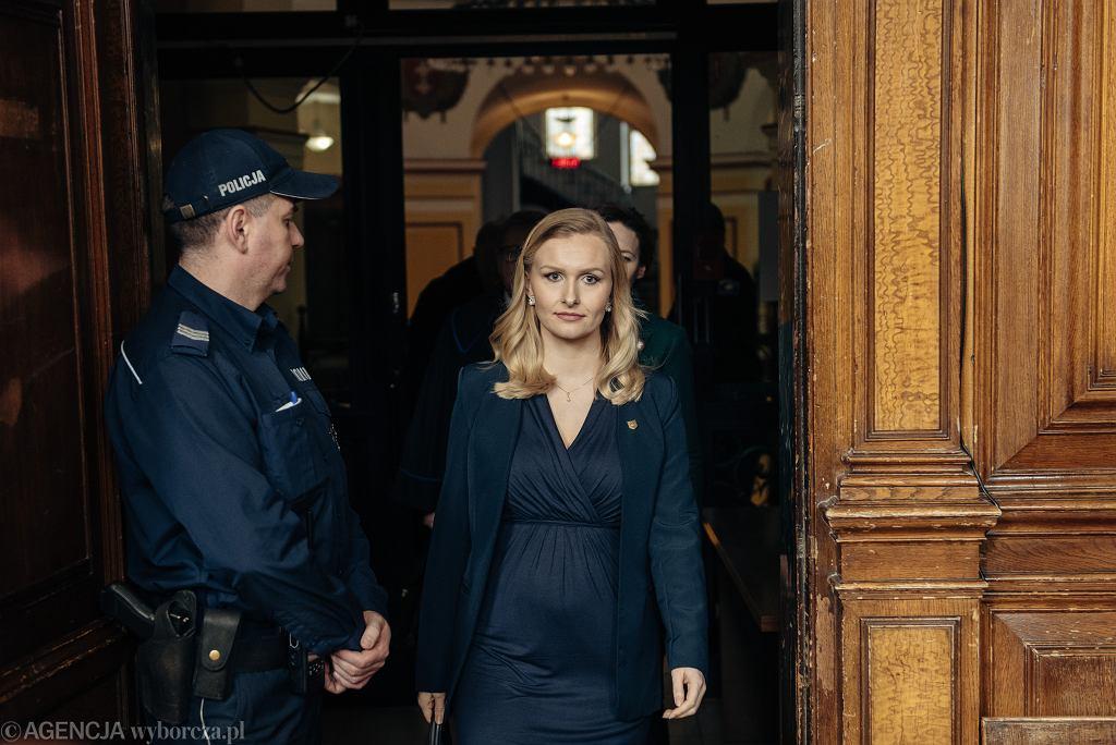 Ogloszenie wyroku w sprawie z powodztwa Natalii Nitek - Plazynskiej przeciwko Hansowi G.