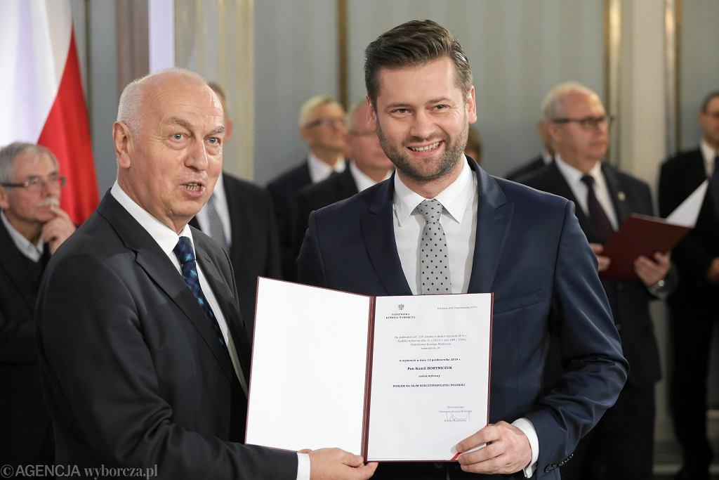 Nysa. Kamil Bortniczuk w hotelowej restauracji z samorządowcami. 'Spotkanie służbowe' (zdjęcie ilustracyjne)