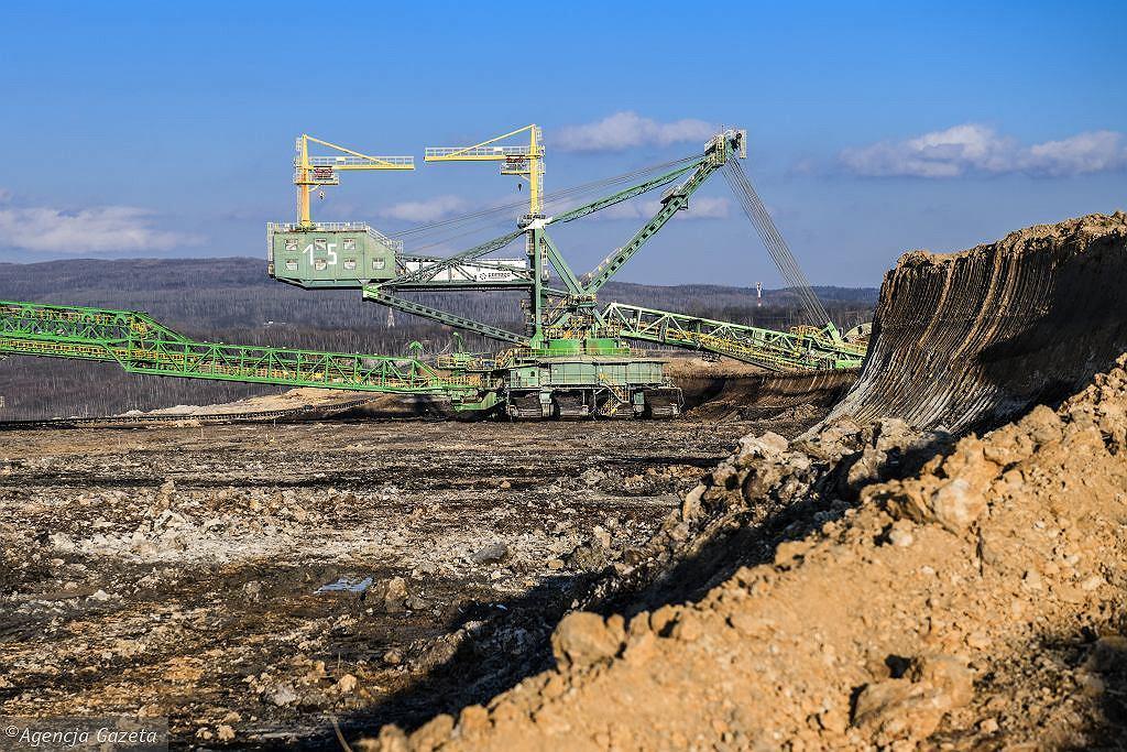 Odkrywka węgla brunatnego Turów