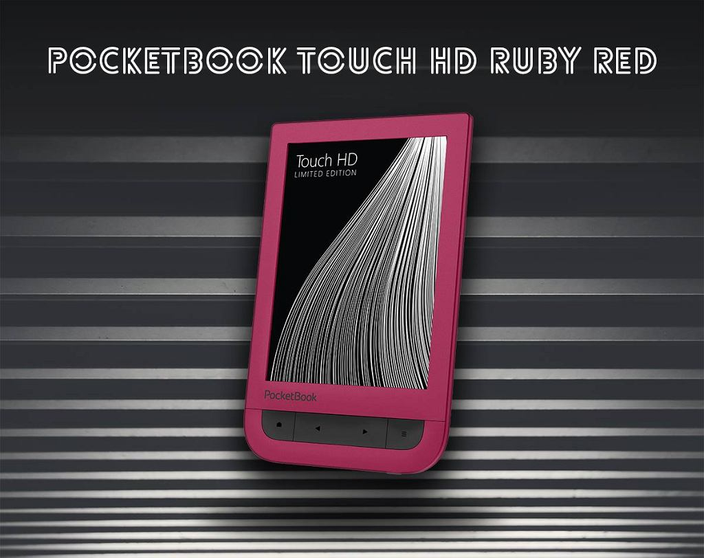 Czytnik PocketBook Touch HD 2 Ruby Red