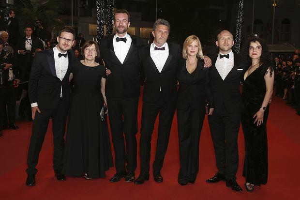 Cannes 2018: Tanya Seghatchian, Ewa Puszczyńska, Joanna Kulig, Tomasz Kot, Borys Szyc, Paweł Pawlikowski - 'Zimna Wojna'