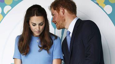 Księżna Kate, książę Harry