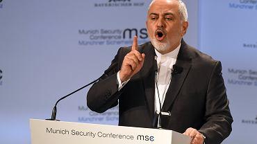 Minister spraw zagranicznych Iranu Mohammad Dżawad Zarif