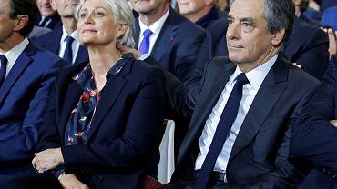 Francois Fillon z żoną