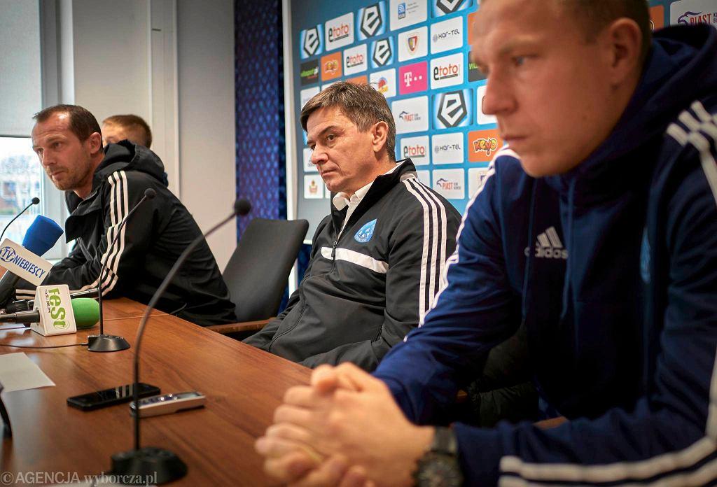 Rafał Grodzicki na konferencji przed meczem Piast - Ruch