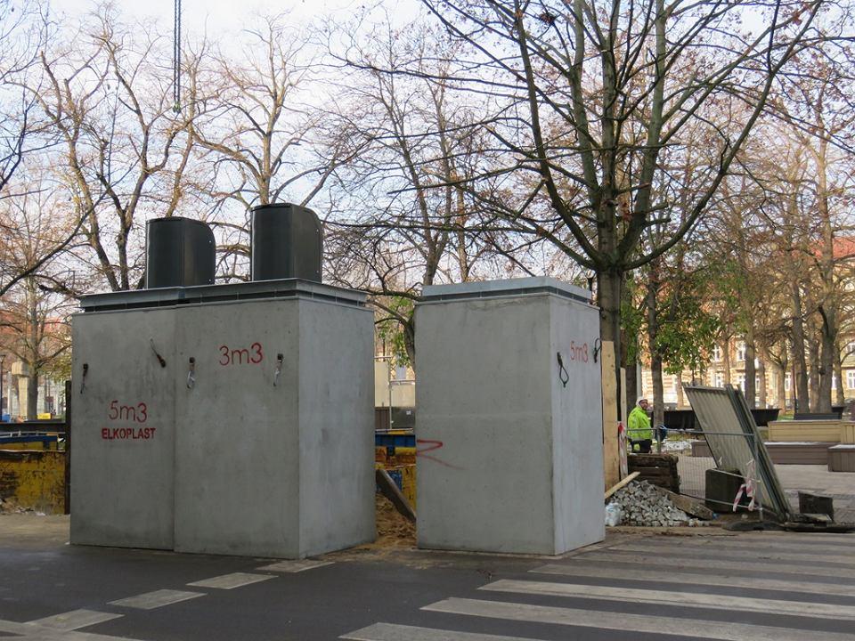 Zdjęcie numer 2 w galerii - Przy Kwadracie pojemniki na śmieci będą pod ziemią