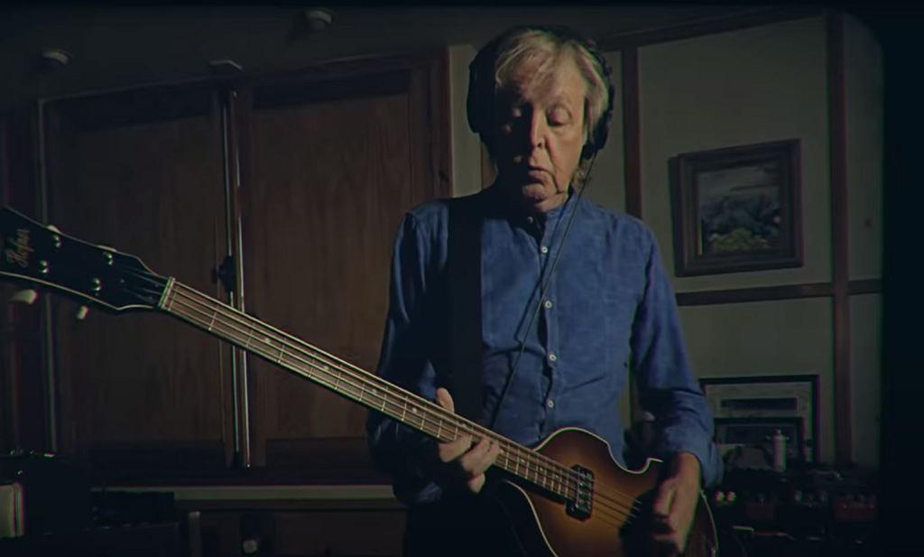 Paul McCartney - Youtube screen