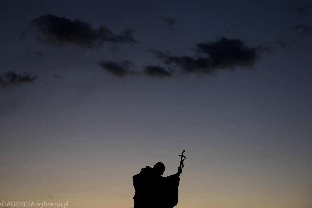 Sanktuarium Jana Pawła II: droga krzyżowa