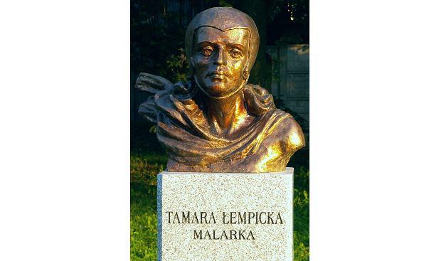 Popiersie Tamary Łempickiej w Kielcach (fot. Paweł Cieśla / CC BY-SA 3.0)