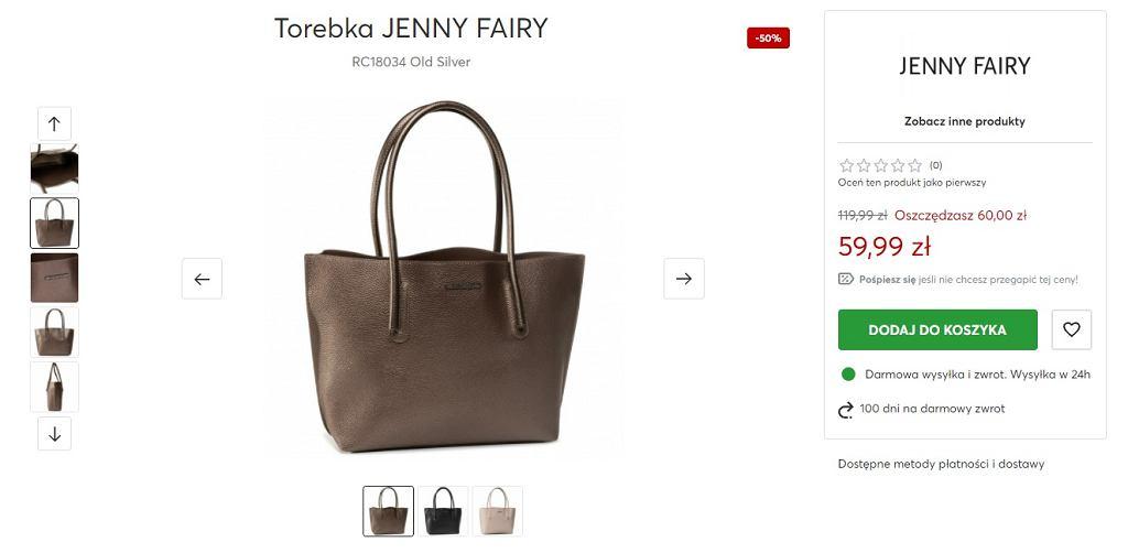 Torebka Jenny Fairy z wyprzedaży