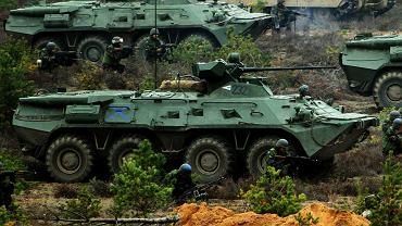 Obecna podstawa węgierskich sił zmechanizowanych, stare transportery BTR-80 po modernizacji w Rosji do wersji BTR-80A