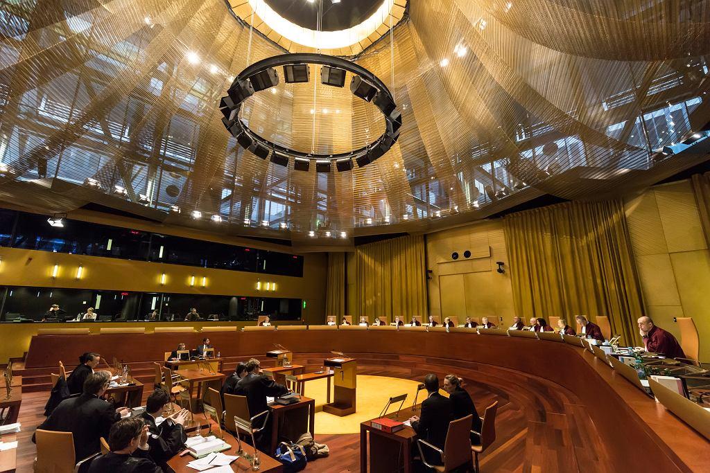 Wielka Izba Trybunału Sprawiedliwości Unii Europejskiej (TSUE)