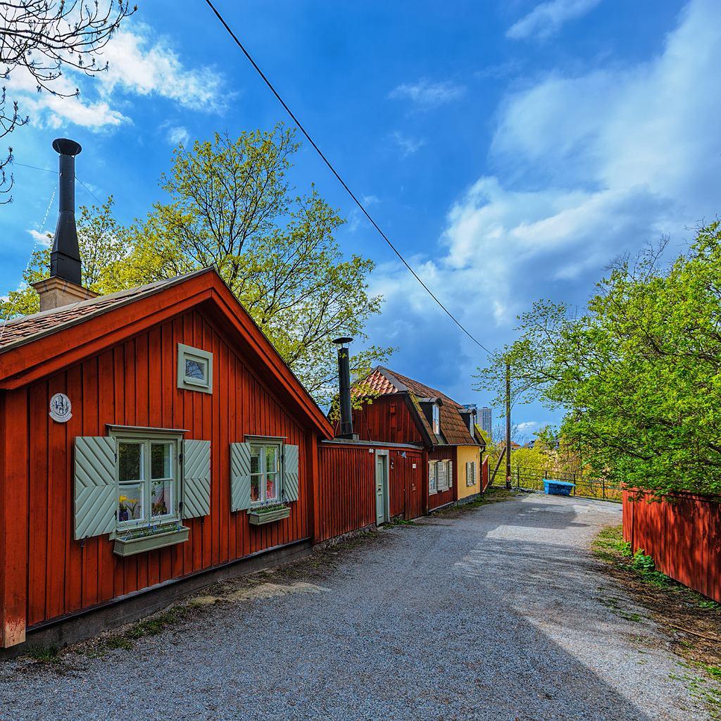 Szwedzkie drewniane domki
