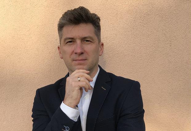 Leszek Martowski, szef prototypowni complete seat R&D Center Faurecia w Grójcu.