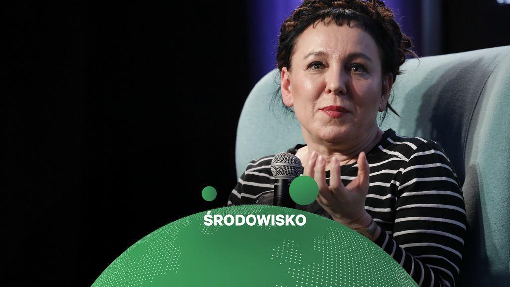 Olga Tokarczuk apeluje o wstrzymanie wycinki lasu