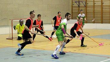 Walczący w ekstraklasie unihokeiści I LO UKS Floorball Gorzów