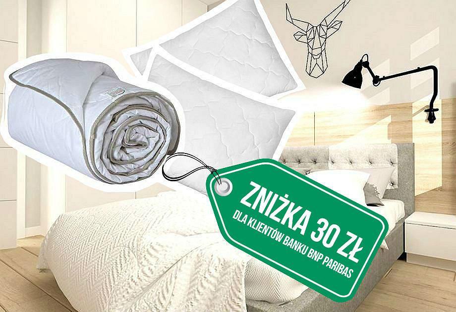 Wyposażenie sypialni: kołdry i poduszki