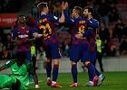 Dwa gole 17-latka zapewniły Barcelonie zwycięstwo. Cudowna asysta Leo Messiego