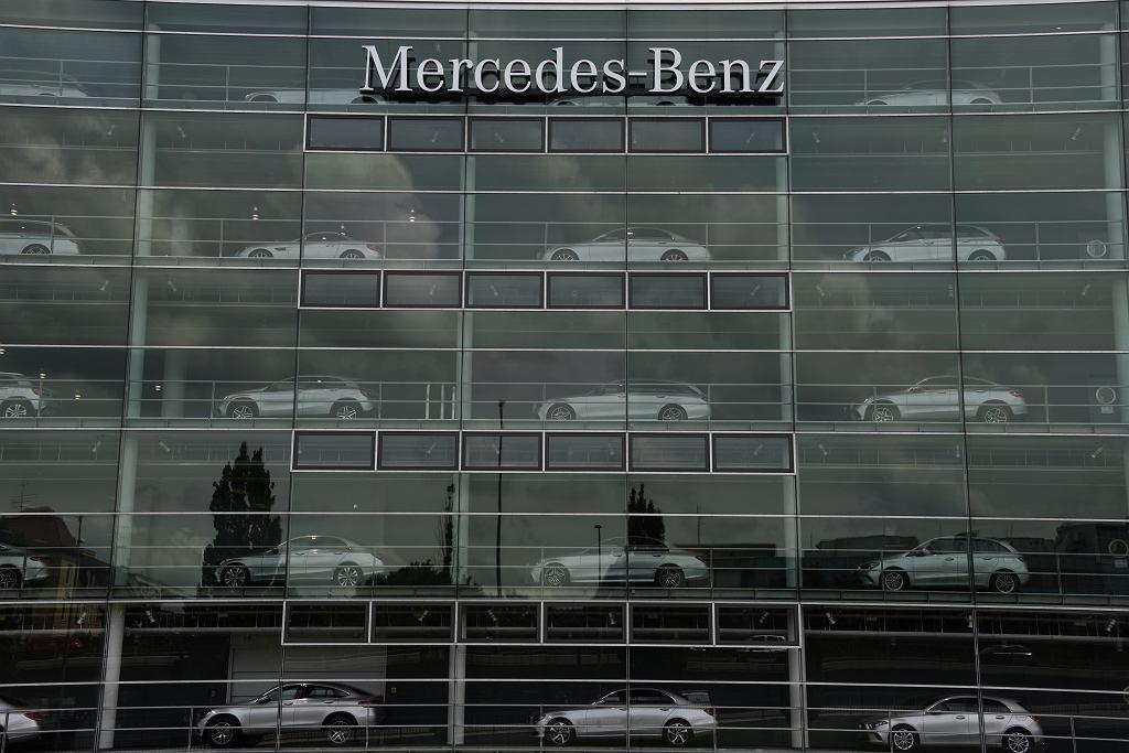 Niemcy. Mercedes-Benz to marka należąca do koncernu Daimler