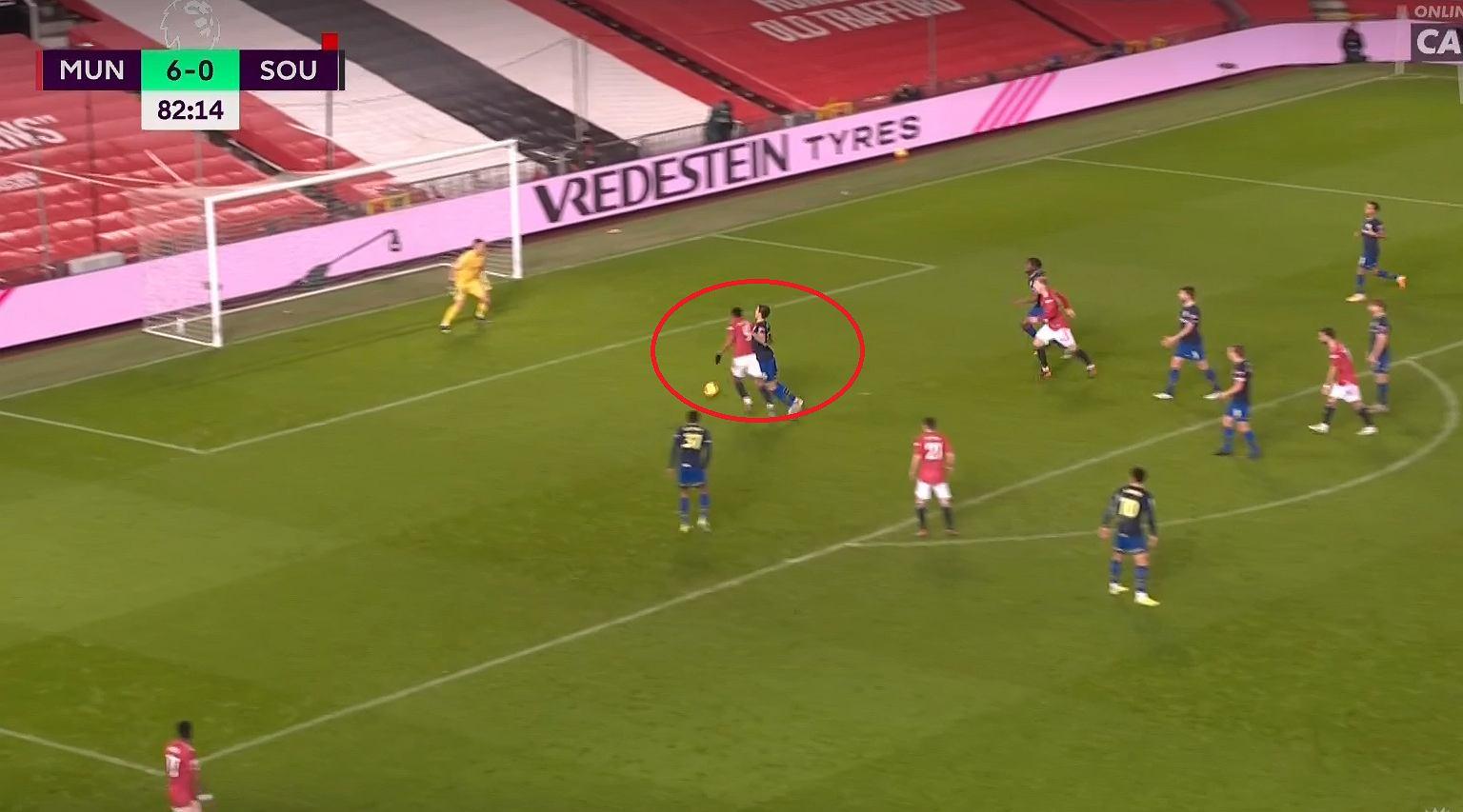Totalna demolka! 9:0! Manchester Utd zmiażdżył Southampton. Katastrofa Bednarka Piłka nożna