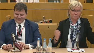 Prezes TK Julia Przyłębska i sędzia sprawozdawca